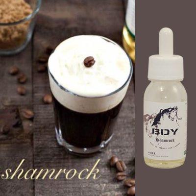 E-liquide café, whiskey irlandais et crème onctueuse par BDY