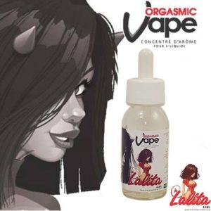 e-liquide Lalita, custard vanille crémeuse avec des notes de fraise