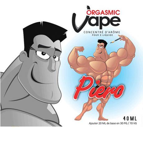 Etiquette e-liquide Piero