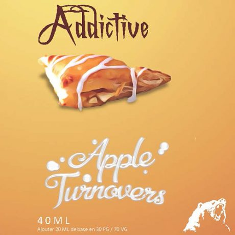 Etiquette Apple Turnovers de chez BDY