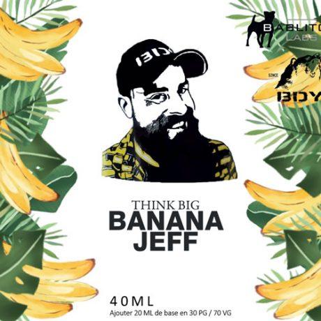 Etiquette Banana Jeff de chez BDY.
